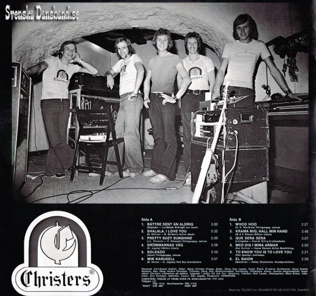 "CHRISTERS LP (1974) ""Tredje LP:n"" B"