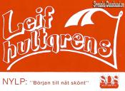 LEIF HULTGRENS (decal)